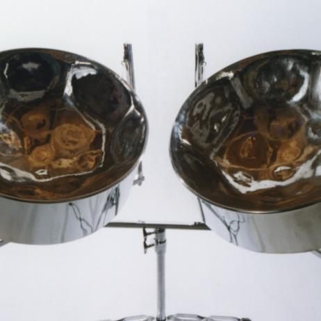 Double Tenor Steel Drums