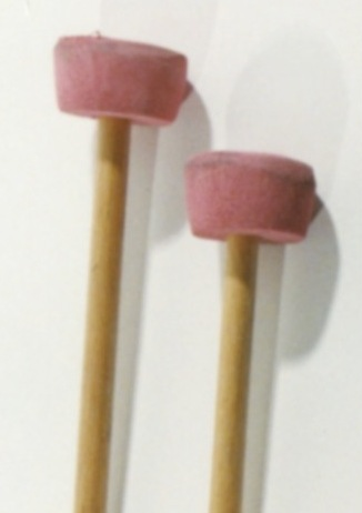 Steel Drum Mallets Bass Wood