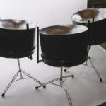 Tropical Hammer Triple Cellos Steel Drums